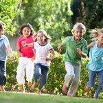 filastrocche per bambini: un, due, tre via!